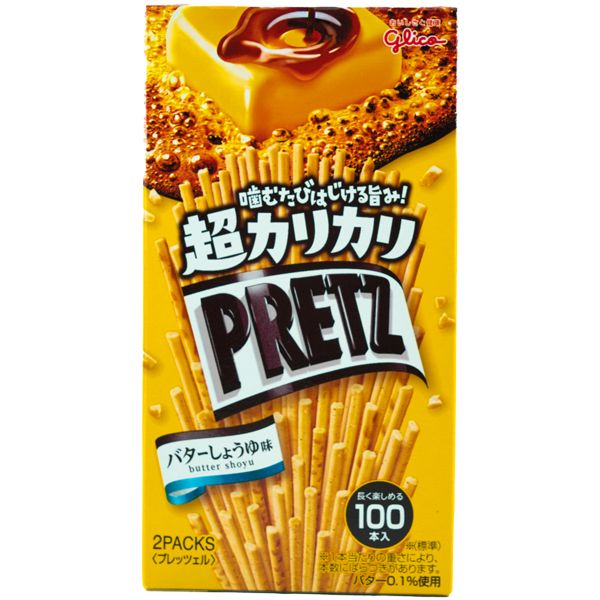 Pretz Super Crispy Butter & Soja
