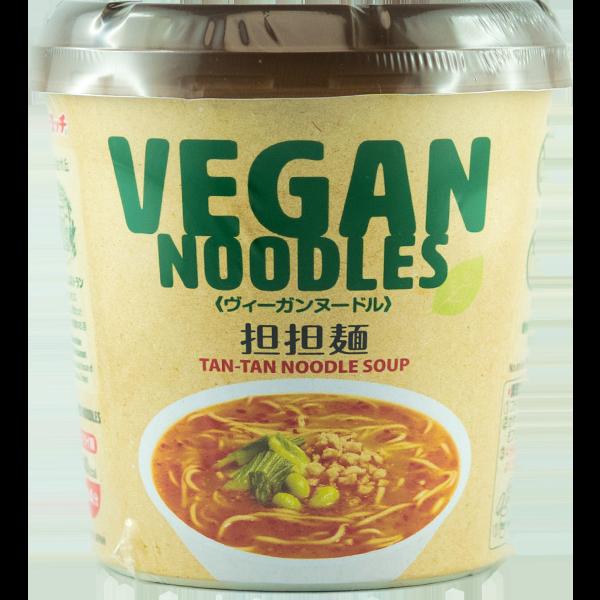 Nouilles à la tasse végétaliennes Tantan men